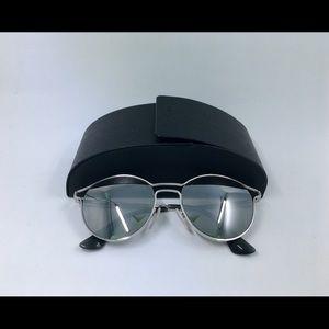 Prada mirror silver sunglasses great condition
